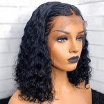 Lace Front Short Curly Human Hair Wigs/Full Lace Wigs