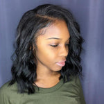 Human Hair Bob Wigs Short Wavy Lace Front wig/Full Lace Wig
