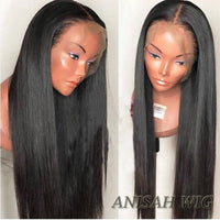 Silky Straight Human Hair Lace Front Wig/360 Lace Frontal Wig
