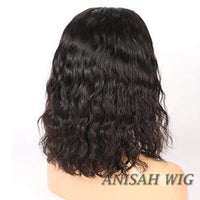Natural Wave Short Bob Human Hair Wigs Lace Front wig/Full Lace Wig