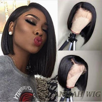 Human Hair Bob Wigs Straight Short Lace Front wig/Full Lace Wig