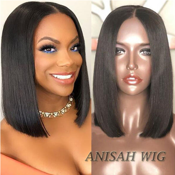 Straight Lace Front wig/Full Lace Wig Short