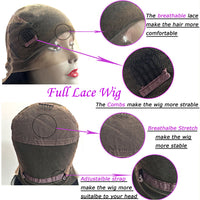 Ombre Human Hair Lace Front Wig/ Full Lace Wig