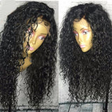 Curly Human Hair Lace Front Wig/ Full Lace Wig