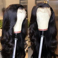 Brazilian Virgin Hair Wavy Human Hair Lace Front Wig/ Full Lace Wig