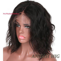 Natural Wave Human Hair Bob Wigs Short Lace Front wig/Full Lace Wig