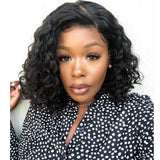 Short Wavy Lace Front Human Hair Wigs/Full Lace Wigs