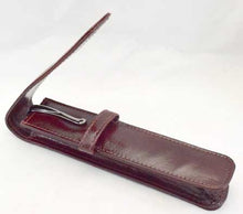 Load image into Gallery viewer, 1LPH- Single Leather Pen Holder - Oxblood