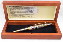 Load image into Gallery viewer, Abalone Red Lipped Elegant Sierra Ballpoint Twist Pen