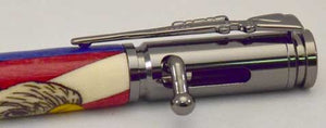Bald Eagle Bolt Action Click Pen
