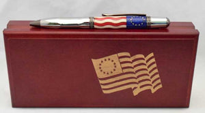 Betsy Ross Sierra Grip Ballpoint Twist Pen