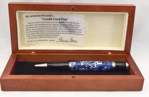 Credit Card Ballpoint Twist Pen