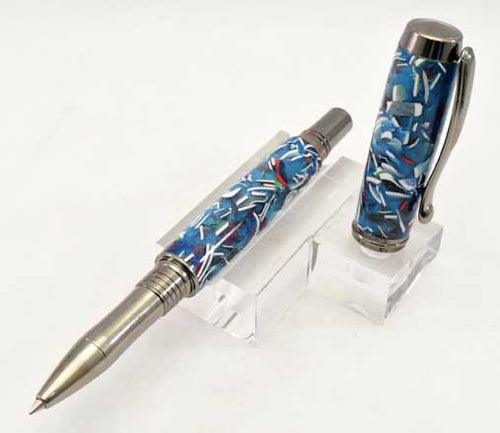 Credit Card Rollerball or Fountain Pen
