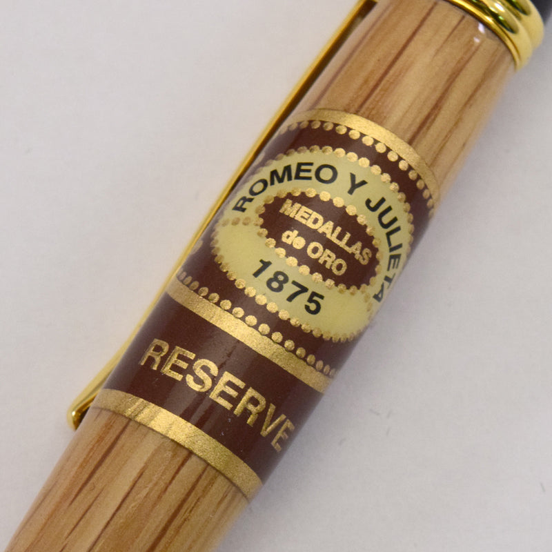 Whiskey Barrel Cigar Band© Sierra Ballpoint Twist Pen