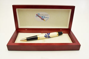 Air Force Inlay Ballpoint Twist Pen