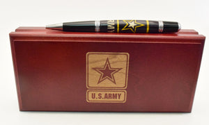 Inlay Army Ballpoint Twist Pen