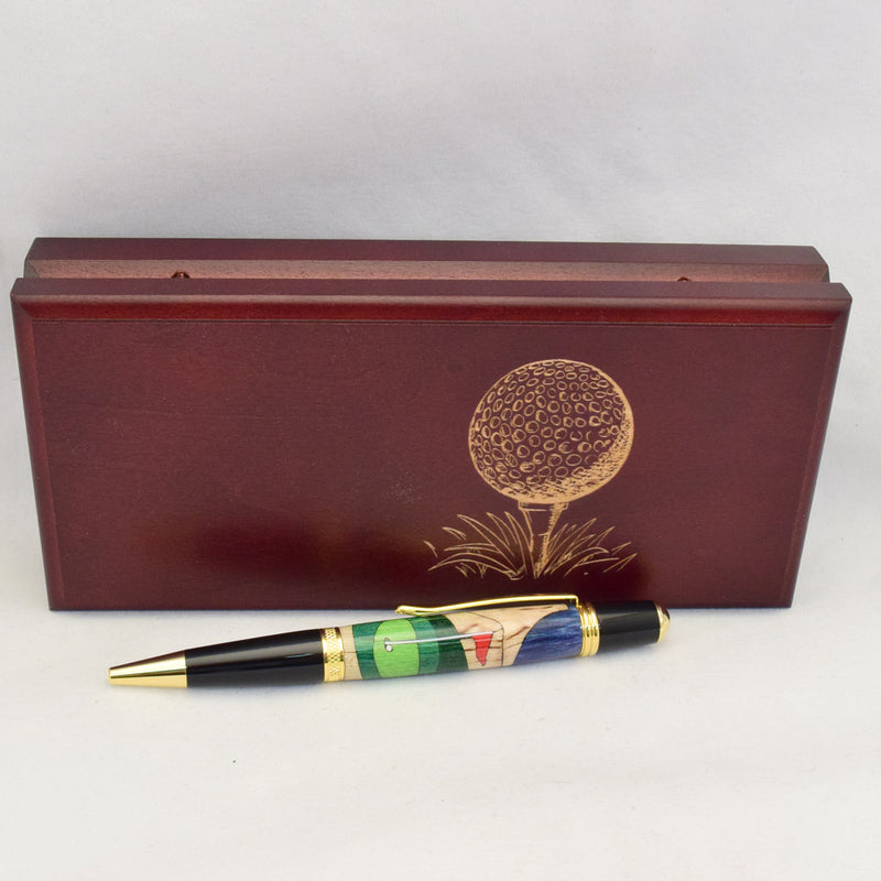 Inlay Golf Sierra Ballpoint Twist Pen