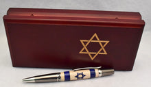 Load image into Gallery viewer, Inlay Israel Flag Ball Point