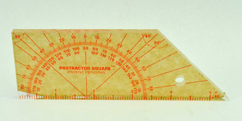 Scroll Saw Protractor Square