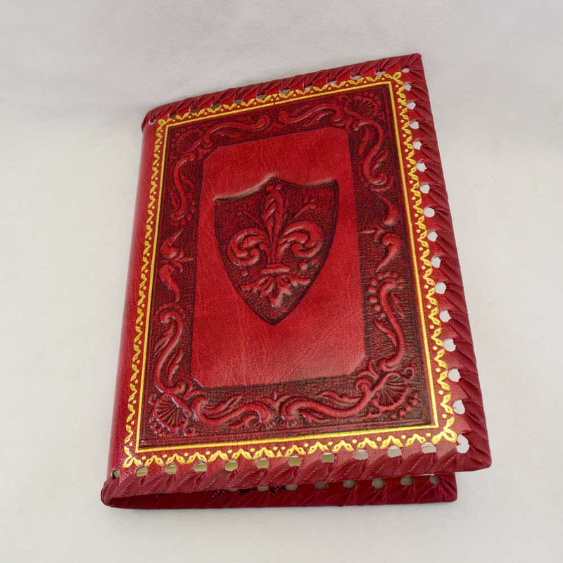 Red Embossed Journal