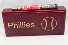 Load image into Gallery viewer, Philadelphia Phillies Acrylic Baseball Click Ballpoint Pen