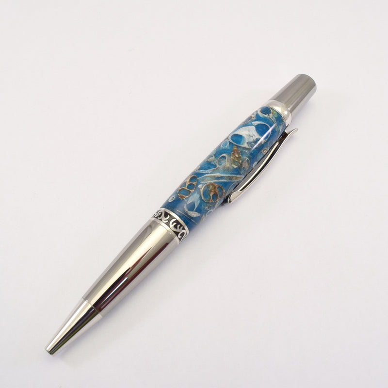 Sea Shell Elegant Sierra Ballpoint Twist Pen - SS3