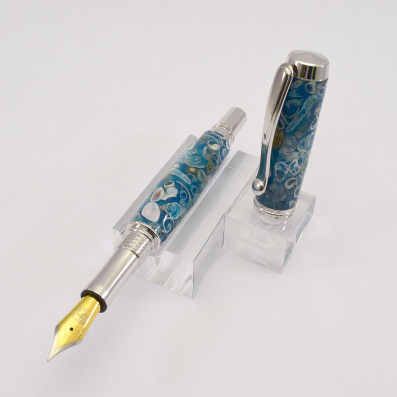 Sea Shell Venetian Rollerball or Fountain Pen - SS2