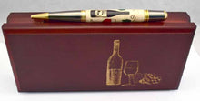 Load image into Gallery viewer, Inlay Wine Lovers  Ballpoint Twist Pen