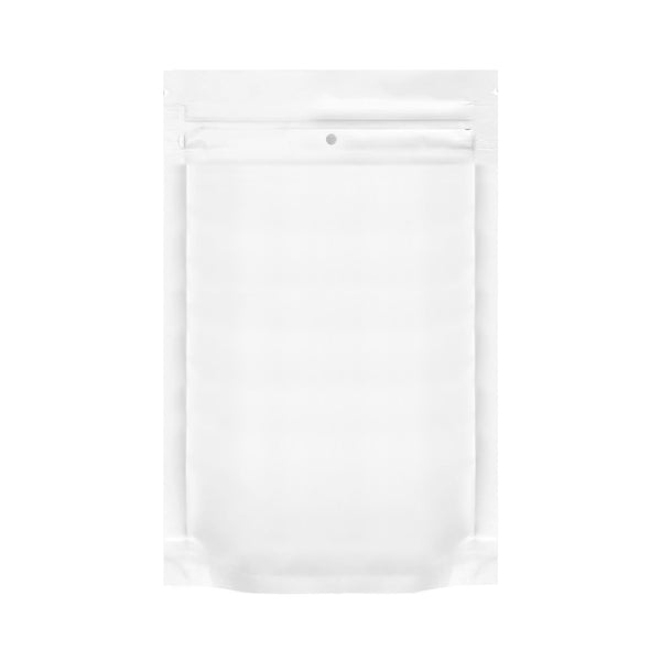 1 Ounce Dymapak Child Resistant Bags All White 1000 Count at Flower Power Packages