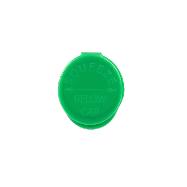 120mm RX Squeeze Tubes Opaque Green 500 Count Flower Power Packages