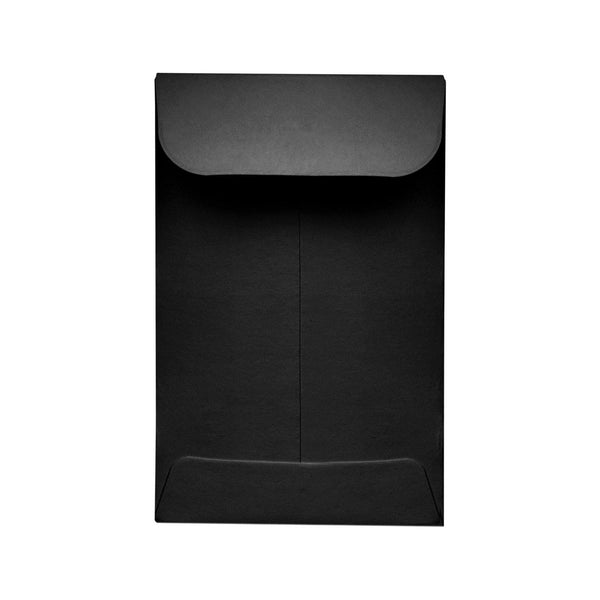 "2.25"" x 3.5"" Concentrate Container Envelope Black 500 Count at Flower Power Packages"