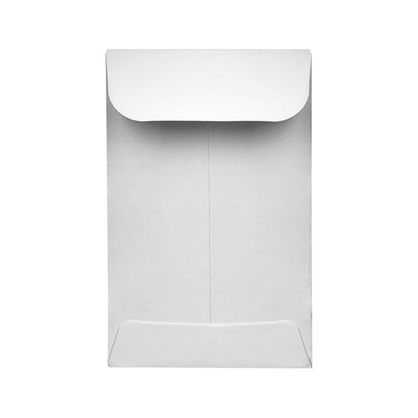 "2.25"" x 3.5"" Concentrate Container Envelope White 500 Count at Flower Power Packages"