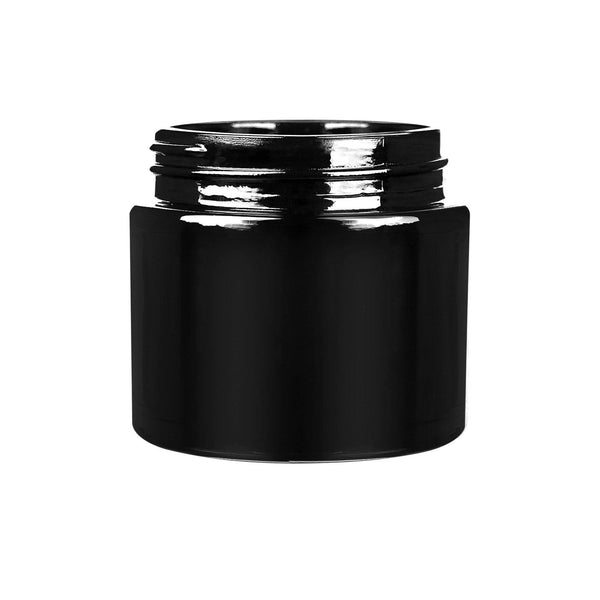 20oz Child Resistant Black Jars with Cap - 2.5 Grams - 200 Count at Flower Power Packages