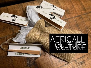 5 Pack - Culture Wraps & natural gift bag