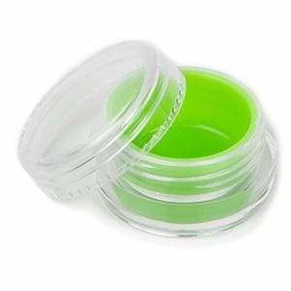 7 mL Acrylic Concentrate Container w/ Silicone Insert (50 Count) Flower Power Packages Green