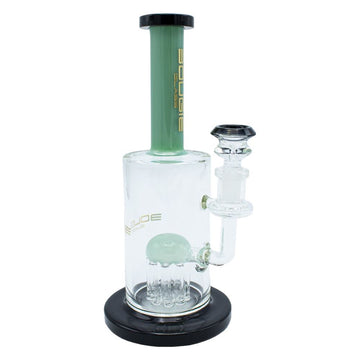 "9"" Bougie Glass Pipe W/Shower Head Perc 14mm"