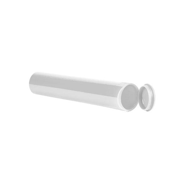 98mm Pre-Roll RX Squeeze Tubes Opaque White - 700 Count at Flower Power Packages