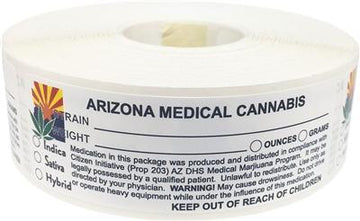 Arizona Medical Cannabis Warning Labels
