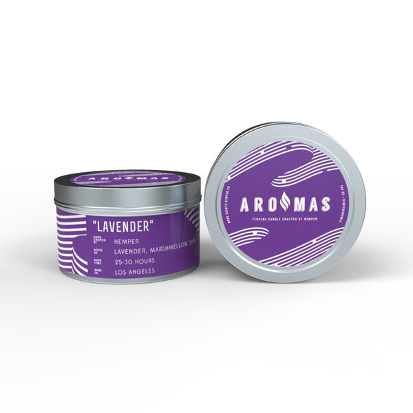 AROMAS Lavender Candle at Flower Power Packages