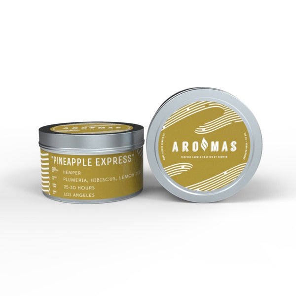 AROMAS Pineapple Express Candle at Flower Power Packages