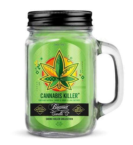 Beamer Candle Co. Cannabis Killer 12oz Candle (1 Count) at Flower Power Packages