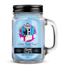Beamer Candle- Smoke Killer Collection 12oz Mason Jar Flower Power Packages Ahhh That's Fresh