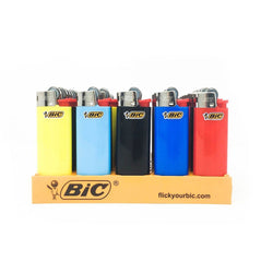 Bic Lighter Mini Classic Assorted Colors (50 Count)