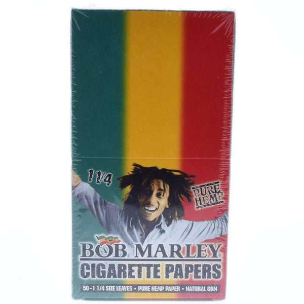 Bob Marley Cigarette Papers 1 1/4 25pk