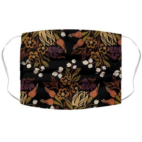 Boho Floral Bouquet Face Mask Cover Flower Power Packages