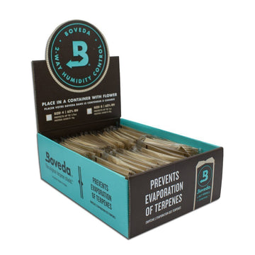 Boveda 62% Humidity Pack Small 8 Gram (10 Count, 50 Count or 100 Count Display)