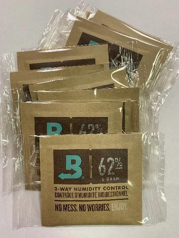 Boveda 62% Humidity Pack Small 8 Gram 10 Count