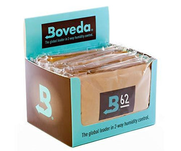 Boveda 62% Large Humidity Pack 67gr (12 Count)