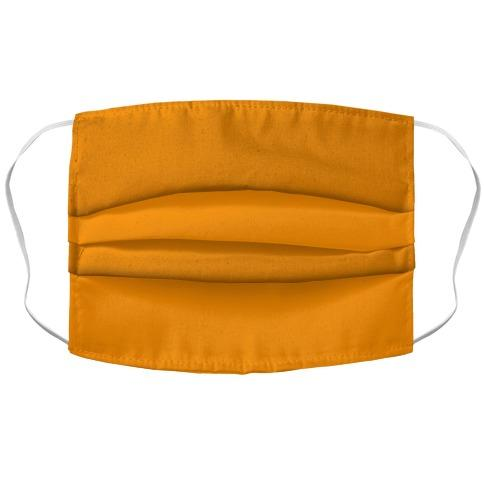 Bright Orange Face Mask Cover Flower Power Packages