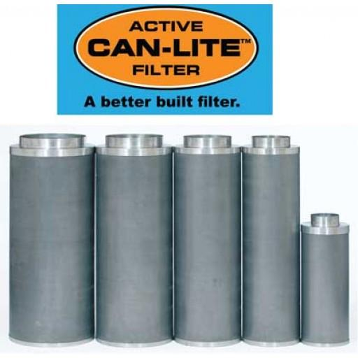 "Can-Lite Carbon Air  Filter 4"" & 6"" at Flower Power Packages"